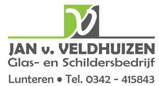 Jan van Veldhuizen Glas- en Schildersbedrijf