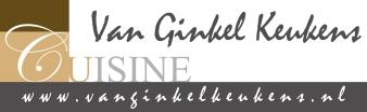 Logo Van Ginkel Keukens met www.indd