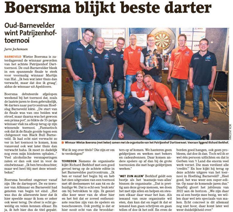 Krant Winnaar 20-01-2020